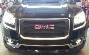 Fog Lights Add OEM Features to New GMC Acadia in Erie
