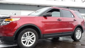 No More Blind Spots on 2015 Explorer Thanks to Backup Camera
