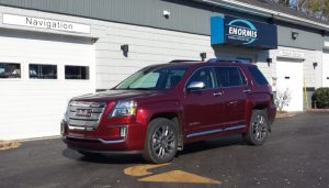 GMC Terrain Denali Client From Warren Adds Navigation To New Vehicle