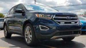 Ford Edge Off-Road Lighting Upgrade for Erie Client