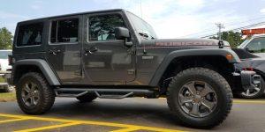 Jeep Wrangler Rubicon Backup Camera