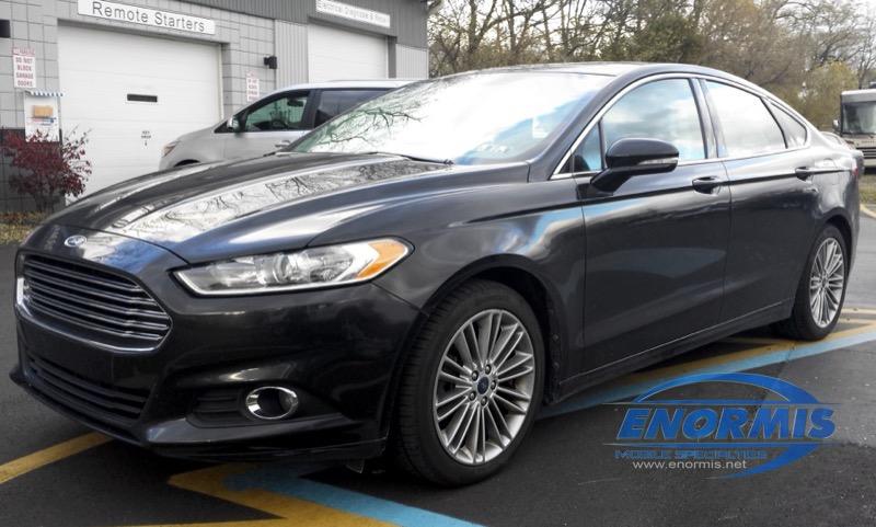 Erie client gets ford fusion remote car starter for wifes car sciox Image collections