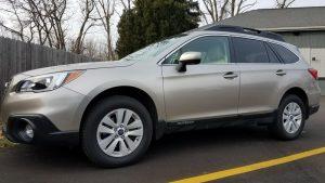 Lake City Client Gets Gift of Subaru Outback Remote Starter