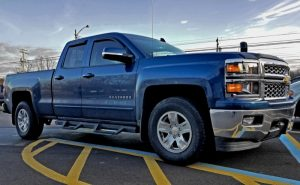 Chevy Silverado Power Mirrors and Heated Steering Wheel for Cambridge Springs Client