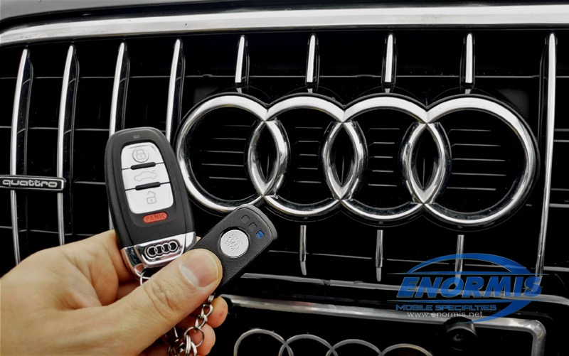 Audi Q5 Remote Start for Repeat North East Client