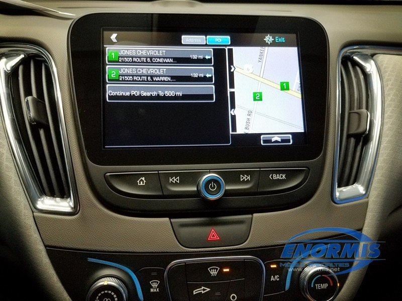 Warren, PA Dealership Upgrades 2018 Chevy Malibu Navigation System