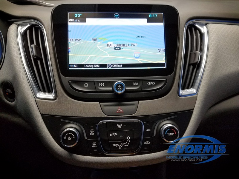 Warren, PA Dealership Upgrades 2018 Chevy Malibu Navigation