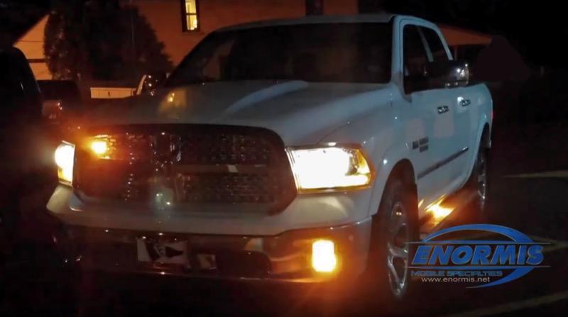 & Erie Good Samaritan Adds Ram 1500 Safety Lighting System