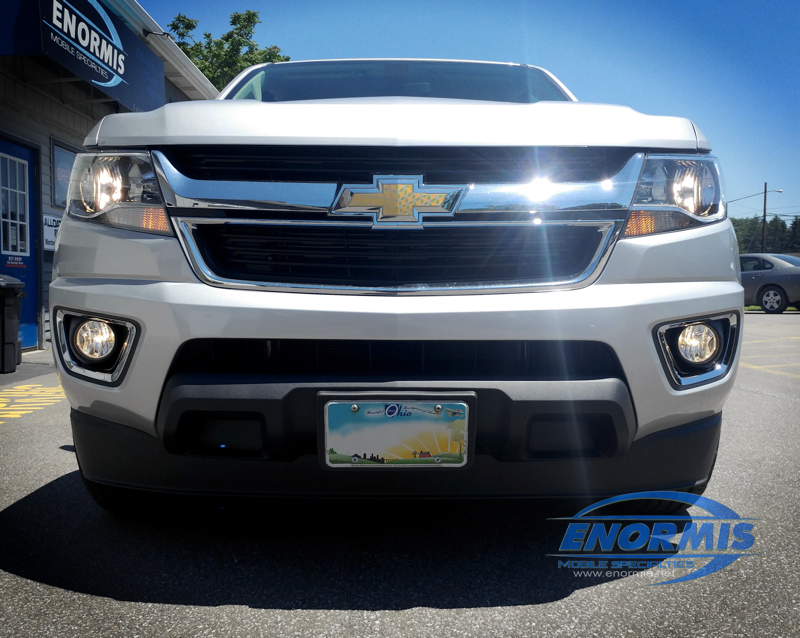 Erie Client Adds Factory Quality 2018 Chevy Colorado Fog LightsENORMIS Mobile Specialties