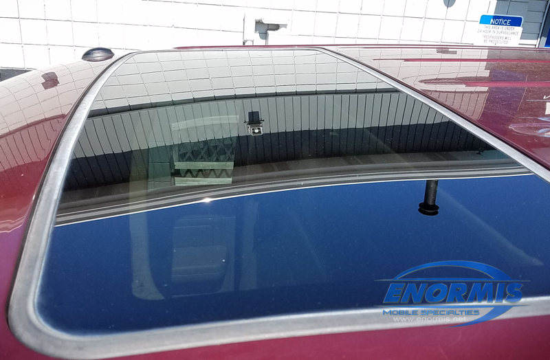 Ford F-150 Sunroof Track Repair for Waterford Client