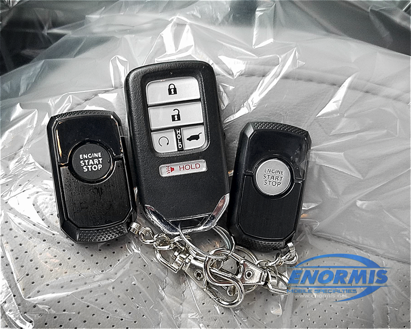 2018 Honda Crv Remote Start