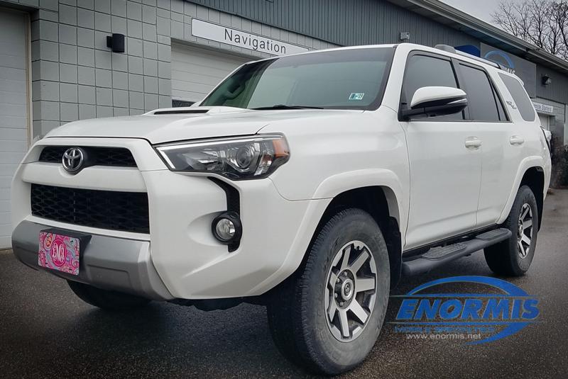 Client Upgrades 2018 Toyota 4runner With Unlimited Range Remote Start