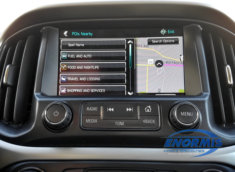 2018 Chevrolet Colorado ZR2 Gets MyLink Navigation Upgrade