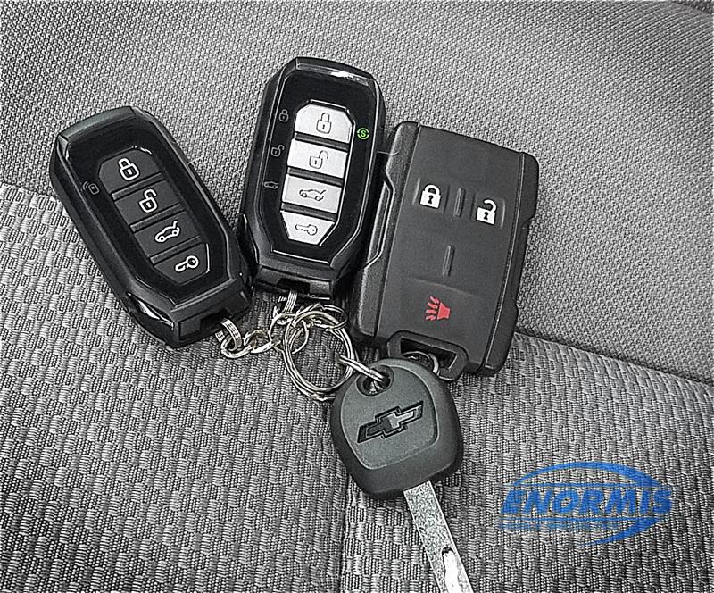 2-Way Remote Start Upgrade For 2019 Chevrolet Silverado 3500 HD