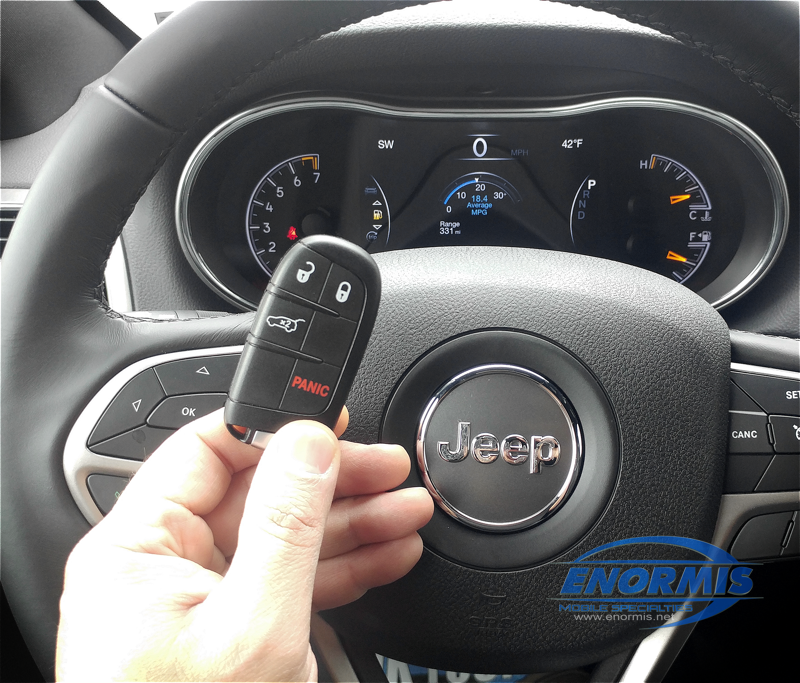 2019 Jeep Grand Cherokee Gets Factory Key Fob Controlled