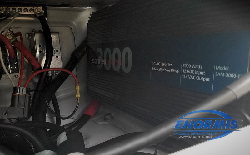 American Red Cross Mercedes Sprinter Inverter Repair